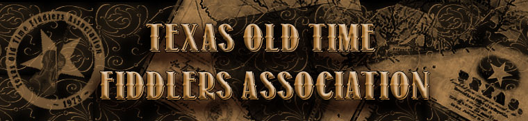 Texas Old Time Fiddlers Association (TOTFA) Banner.
